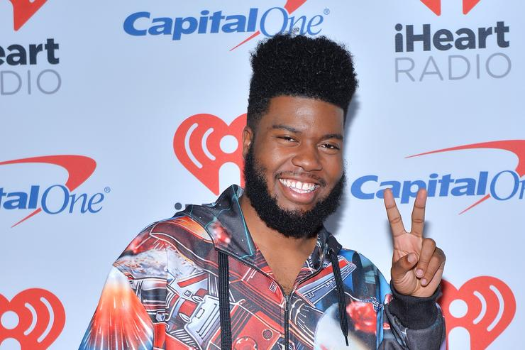 Khalid at 2017 iHeart Radio Awards