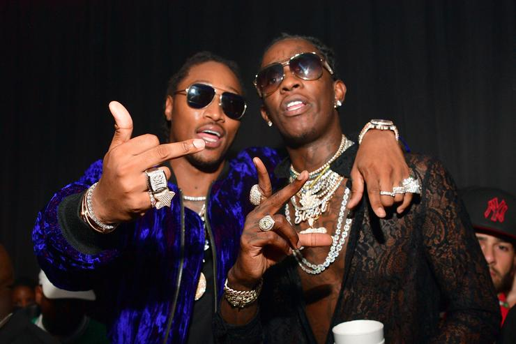 Future & Young Thug Drop Surprise Mixtape 'Super Slimey'