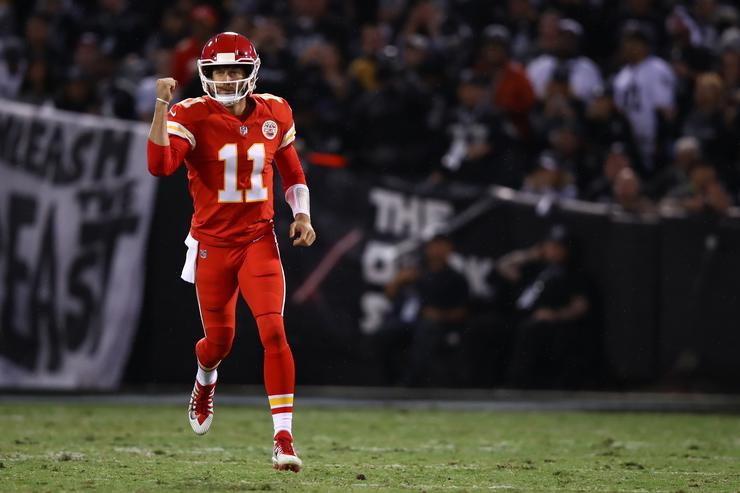 Alex Smith at Oakland Raiders