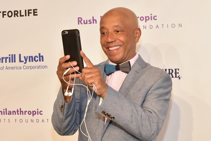 Russell Simmons at Rush Philanthropy event
