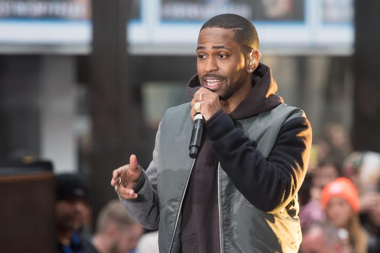 Big Sean performs on NBC's 'Today' at NBC's TODAY Show on November 18, 2015 in New York
