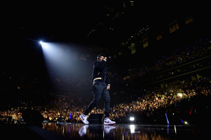 Jay Z performs onstage during TIDAL X: Brooklyn at Barclays Center of Brooklyn on October 17, 2017 in New York City.