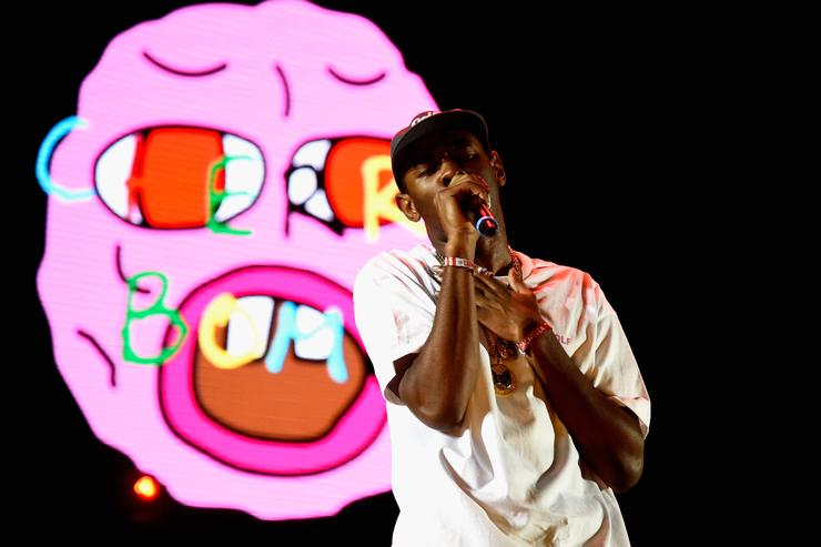 Tyler the Creator at Coachella 2015