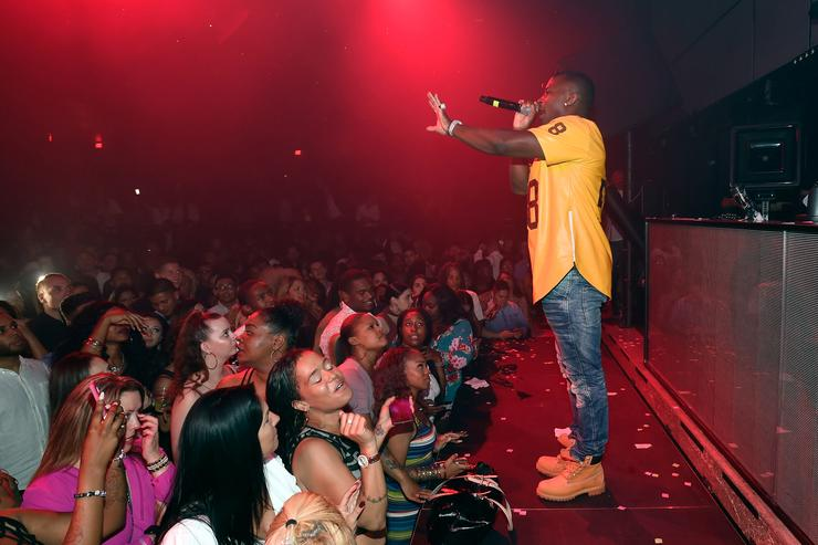Recording artist O.T. Genasis performs at the Light Nightclub at the Mandalay Bay Resort and Casino on May 21, 2017 in Las Vegas, Nevadav