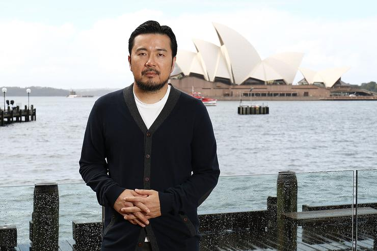 Justin Lin poses during a photo call for Star Trek Beyond on July 7, 2016 in Sydney, Australia