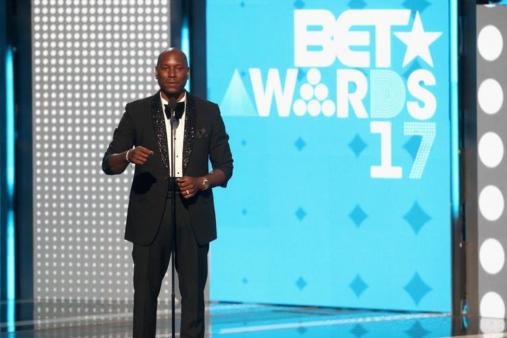 Tyrese at 2017 BET Awards