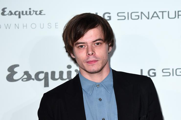 Stranger Things actor Charlie Heaton at Esquire event