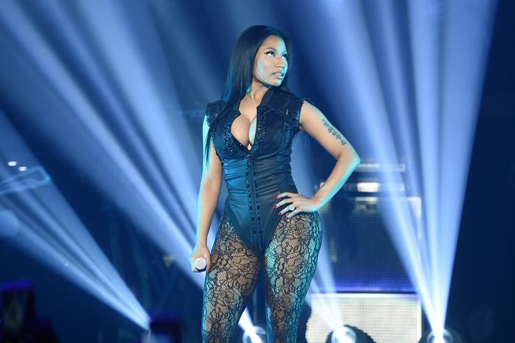 Rapper Nicki Minaj performs onstage during TIDAL X: 1020 Amplified by HTC at Barclays Center of Brooklyn on October 20, 2015 in New York City