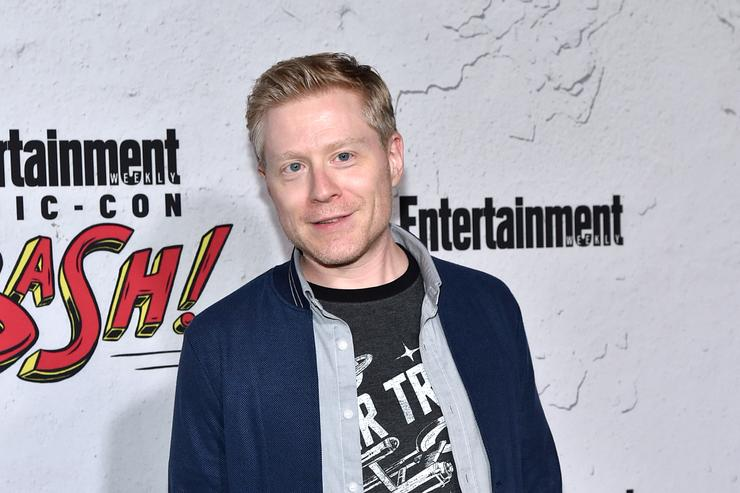 Anthony Rapp at comic con
