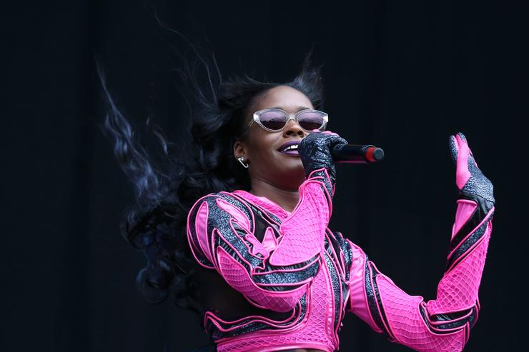 Azealia Banks At 2014 Wireless Festival