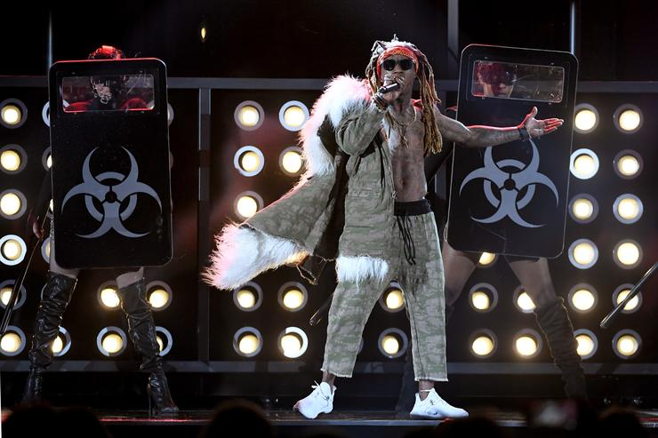 Lil Wayne at 2017 Billboard Awards