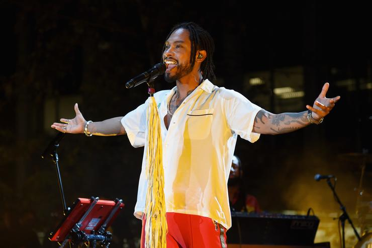 Miguel at Annenberg Foundation