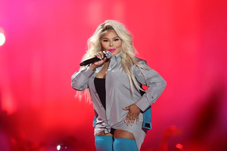 Lil Kim at VH1 awards 2017