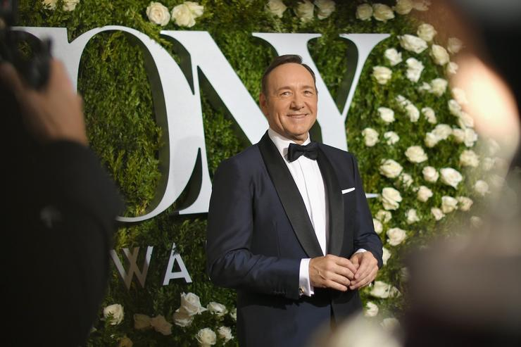 Kevin Spacey at 2017 Tony Awards