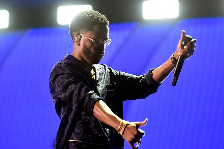 Big Sean at iHeart radio fest