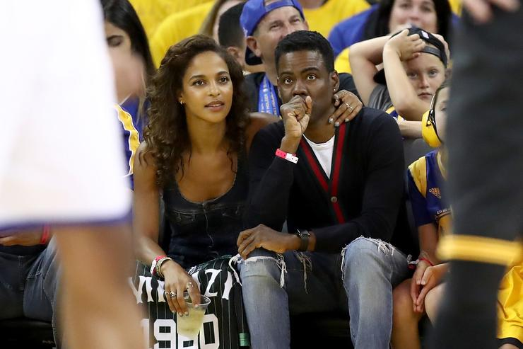 Chris Rock at 2017 NBA Finals
