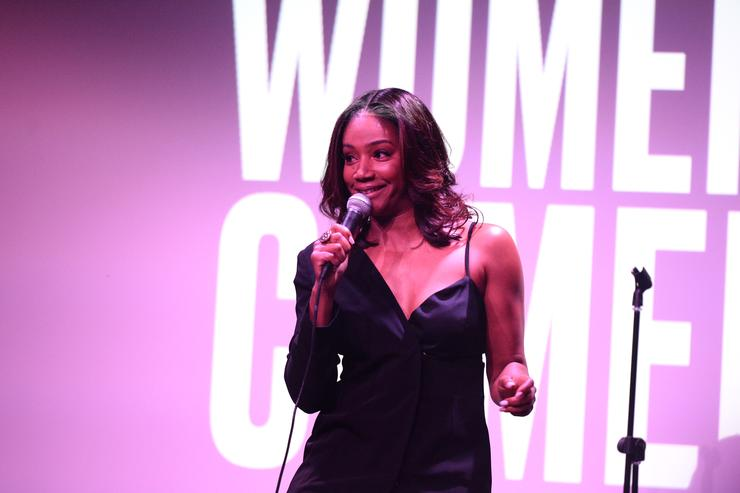 Tiffany Haddish at Elle's Women in Comedy event