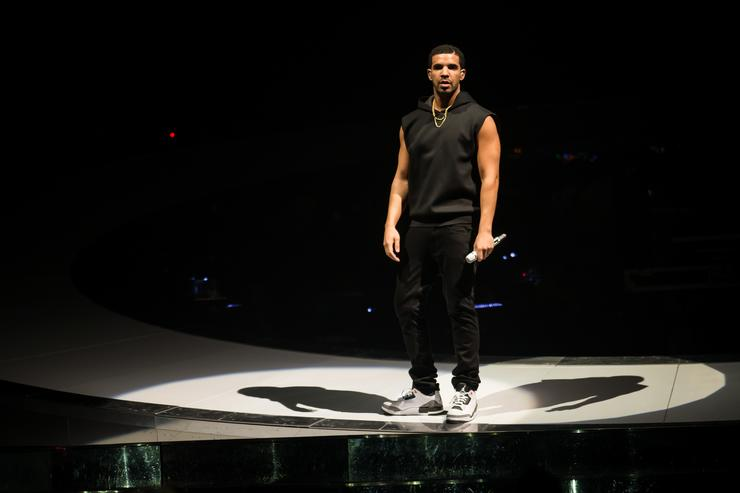 Drake performs at O2 Arena on March 24, 2014 in London, England