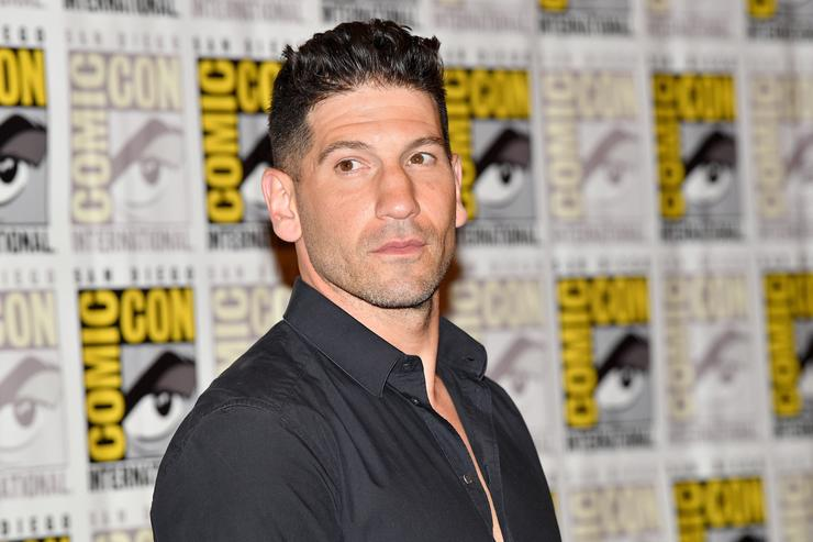 Jon Bernthal at 2017 comic con
