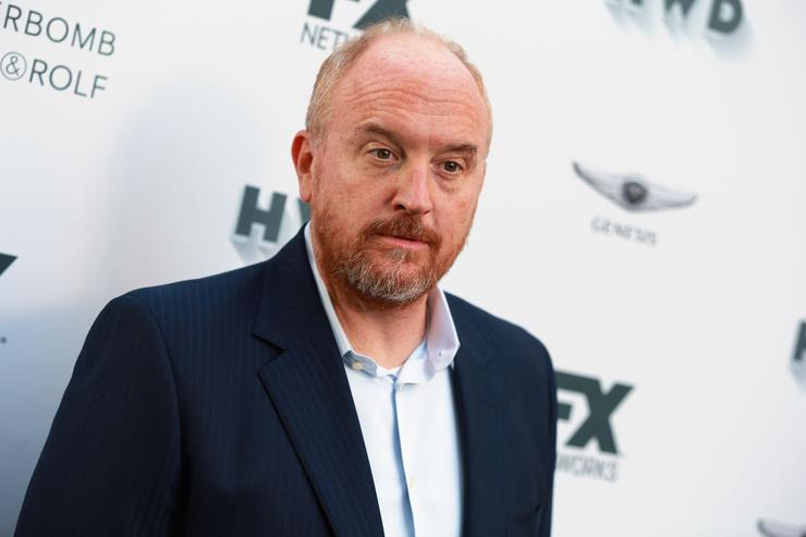 Louis C.k. at Vanity Fair Emmy's