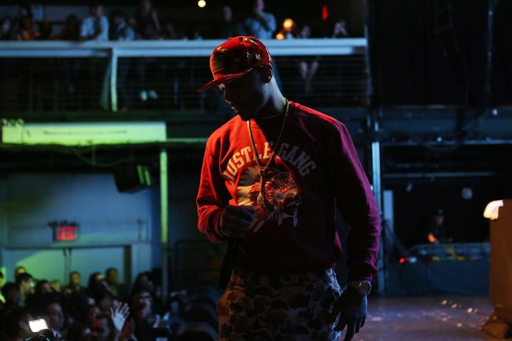 Rapper T.I. performs at the kick-off concert for AWXI at Terminal 5 on September 29, 2014 in New York City
