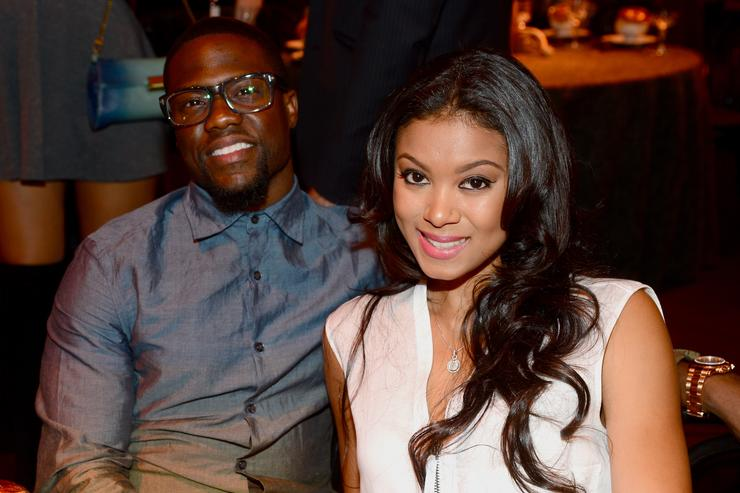 Actor Kevin Hart and Eniko Parrish attends Spike TV's 'Guys Choice 2014' at Sony Pictures Studios on June 7, 2014 in Culver City, California