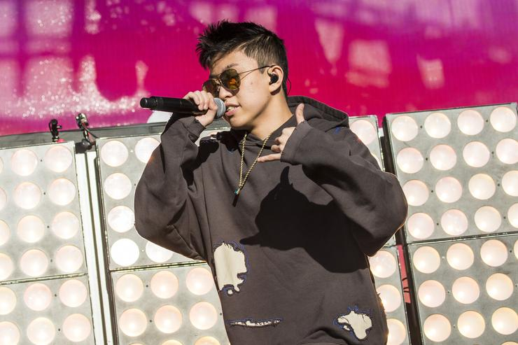Rich Chigga performs during the 2017 Voodoo Music + Arts Experience at City Park on October 28, 2017 in New Orleans, Louisiana