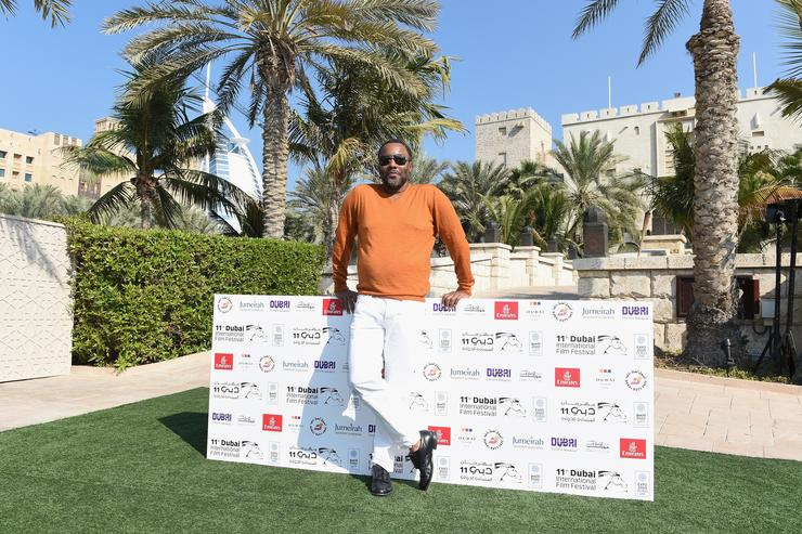 Jury president Lee Daniels attends a photocall on day two of the 11th Annual Dubai International Film Festival held at the Madinat Jumeriah Complex on December 11, 2014 in Dubai, United Arab Emirates