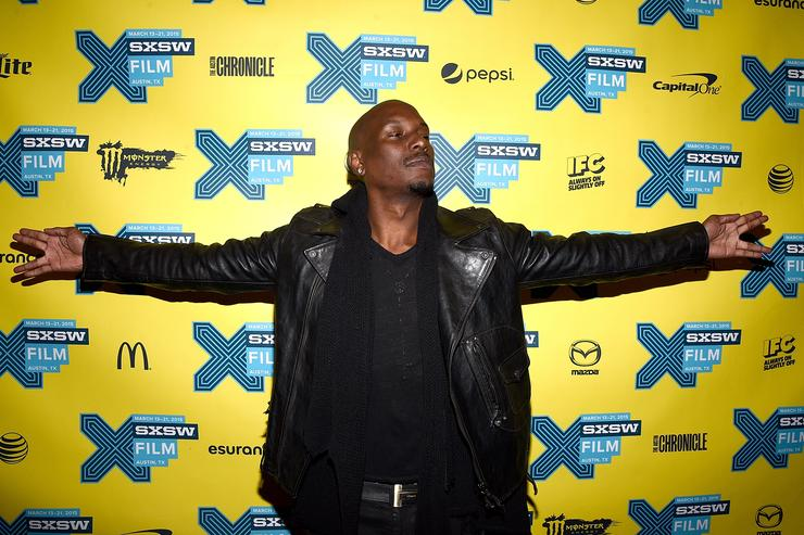 Actor Tyrese Gibson attends the screening of 'Furious 7' during the SXSW Music, Film + Interactive Festival at the Paramount on March 15, 2015 in Austin, Texas
