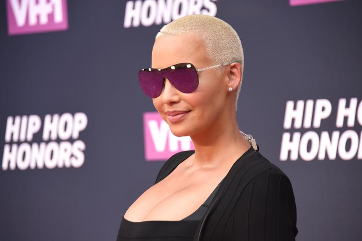 Amber Rose attends the VH1 Hip Hop Honors: All Hail The Queens at David Geffen Hall on July 11, 2016 in New York City