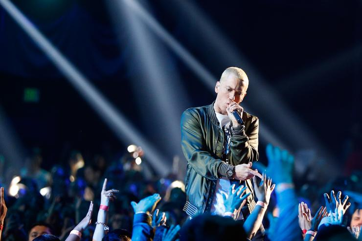 Eminem at 2014 MTV VMA's