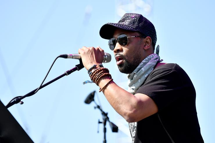 RZA of Banks & Steelz performs on the Outdoor Stage during day 2 of the Coachella Valley Music And Arts Festival (Weekend 1) at the Empire Polo Club on April 15, 2017 in Indio, California