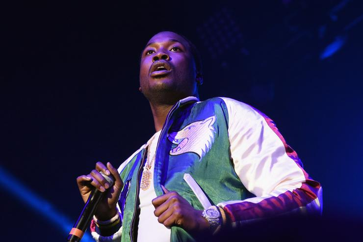 Meek Mill at V103 Pop Up Concert