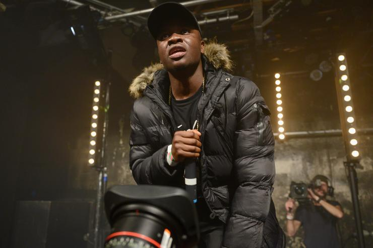 Big Shaq performs at YO! MTV Raps as part of MTV Music Week at XOYO on November 9, 2017 in London, England. The MTV EMAs 2017 take place at The SSE Arena, Wembley on Sunday 12th November 2017