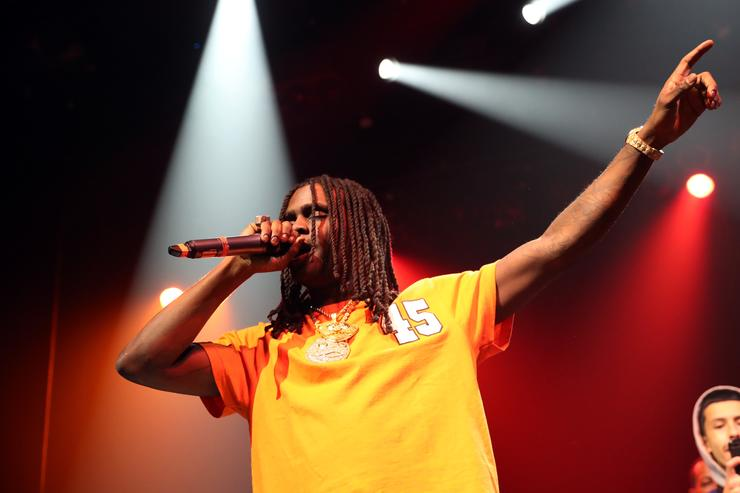 Chief Keef performs at Gramercy Theatre on November 13, 2017 in New York City