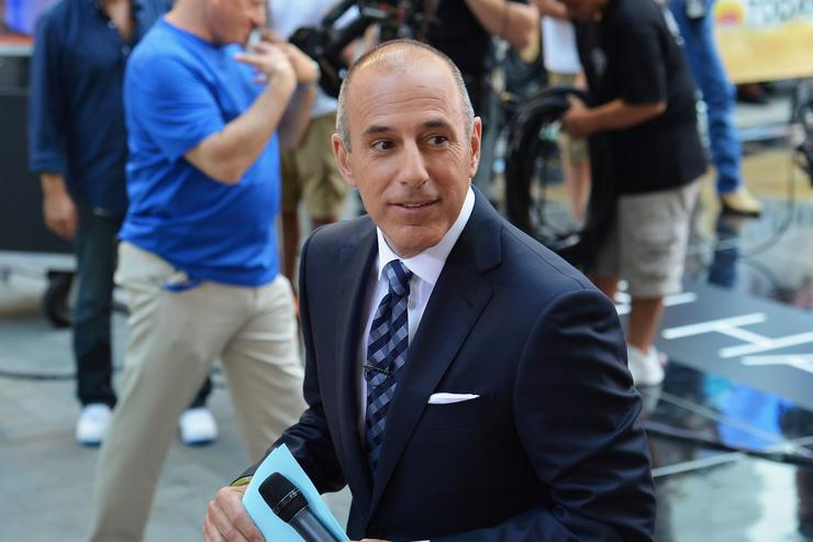 'Today' host Matt Lauer visits NBC's TODAY Show on July 18, 2013 in New York City