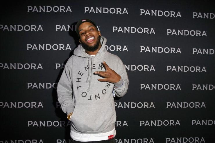 Rapper Tory Lanez attends the PANDORA Discovery Den SXSW on March 18, 2016 in Austin, Texas
