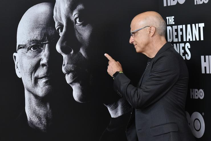 Jimmy Iovine attends 'The Defiant Ones' premiere at Time Warner Center on June 27, 2017 in New York City
