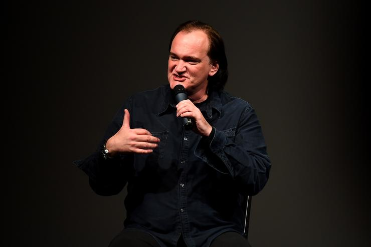 Director Quentin Tarantino speaks at the 'Reservoir Dogs' 25th Anniversary Screening during the 2017 Sundance Film Festival at Eccles Center Theatre on January 27, 2017 in Park City, Utah.