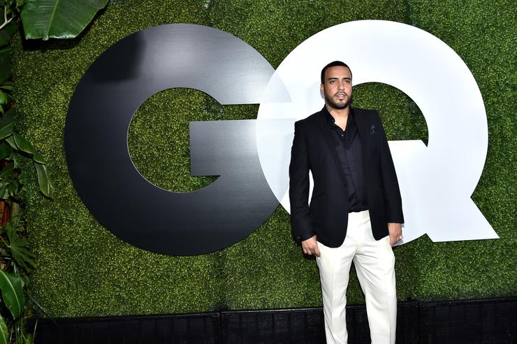 Rapper French Montana attends the GQ 20th Anniversary Men Of The Year Party at Chateau Marmont on December 3, 2015 in Los Angeles, California