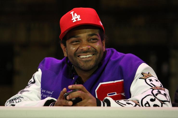 Recording artist Jim Jones attends the Sony Entertainment press conference to announce the return of 'Hip Hop Monologues: Inside the Life & Mind of Jim Jones' at 37 Arts Theatre on March 23, 2009 in New York City