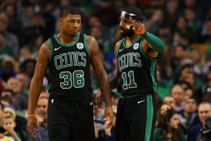 Marcus Smart x Kyrie Irving
