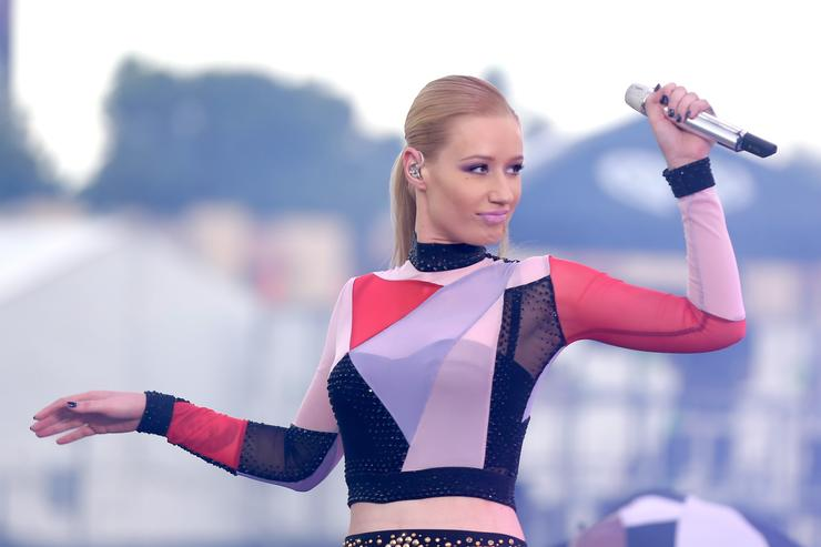 Rapper Iggy Azalea performs onstage during the 2014 iHeartRadio Music Festival Village on September 20, 2014 in Las Vegas, Nevada