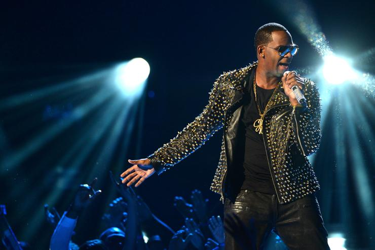 Recording artist R. Kelly performs onstage during the 2013 BET Awards at Nokia Theatre L.A. Live on June 30, 2013 in Los Angeles, California