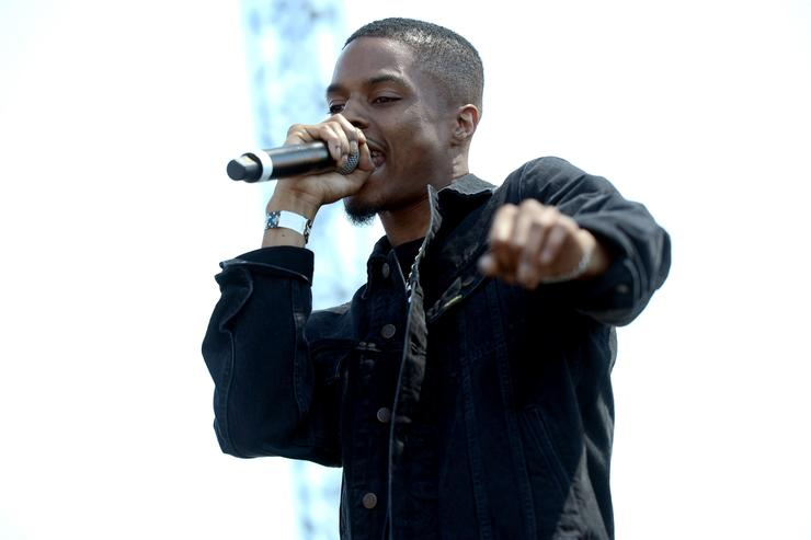 Rapper/producer Pi'Erre Bourne performs onstage during the Day N Night Festival at Angel Stadium of Anaheim on September 8, 2017 in Anaheim, California