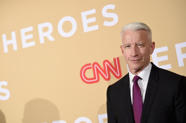 Host Anderson Cooper attends CNN Heroes 2015 - Red Carpet Arrivals at American Museum of Natural History on November 17, 2015 in New York City