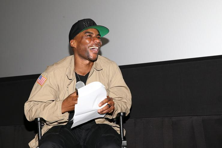 Radio personality Charlamagne tha God discuss the BET series 'Tales' at AMC 34th Street on June 8, 2017 in New York City