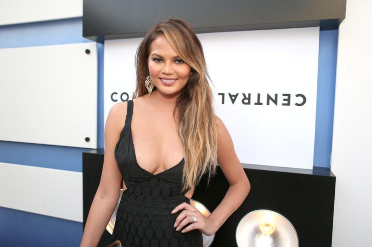 Model Chrissy Teigen attends The Comedy Central Roast of Justin Bieber at Sony Pictures Studios on March 14, 2015 in Los Angeles, California