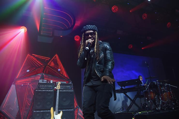 Ty Dolla Sign performs at Pandora Sounds Like You: 2017 on December 5, 2017 in New York City