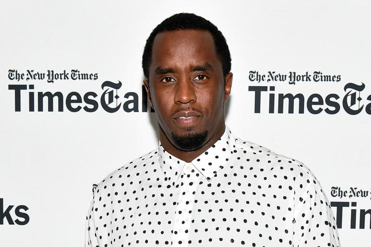 Sean 'Diddy' Combs attends TimesTalks Presents: An Evening with Sean 'Diddy' Combs at The New School on September 20, 2017 in New York City